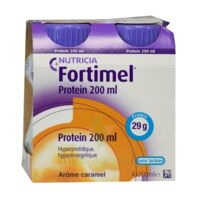 Fortimel Protein Nutriment Caramel 4 Bouteilles/200ml à Mimizan