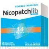 NICOPATCHLIB 14 mg/24 h Dispositifs transdermiques B/28 à Mimizan