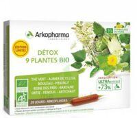 Arkofluide Bio Ultraextract Solution buvable détox 9 Plantes 20 Ampoules/10ml à Mimizan