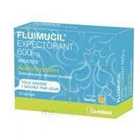 Fluimucil Expectorant Acetylcysteine 600 Mg Glé S Buv Adultes 10sach à Mimizan
