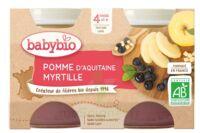 Babybio Pot Pomme Myrtille à Mimizan