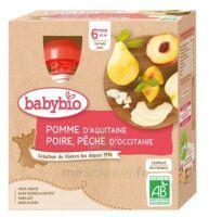 Babybio Gourde Pomme Poire Pêche à Mimizan