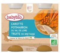 Babybio Pot Carotte Potimarron Truite à Mimizan
