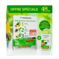 Arkofluides Programme Minceur Bio 30 ampoules/10ml + Arkogélules Konjac B/45 Offre spéciale 40 ans de santé naturelle à Mimizan