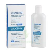 Ducray Squanorm Shampooing Pellicule Grasse 200ml à Mimizan