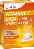 Vitamine C Upsa Effervescente 1000 Mg, Comprimé Effervescent à Mimizan