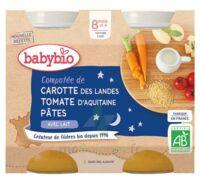 Babybio Pot Bonne Nuit Légumes Pâtes à Mimizan